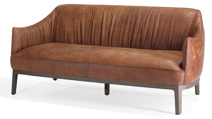 Blossom leather sofa