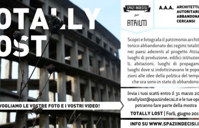 TOTALLY LOST ita-1 Flyer