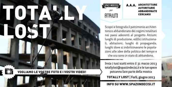 TOTALLY LOST volantino ita-1