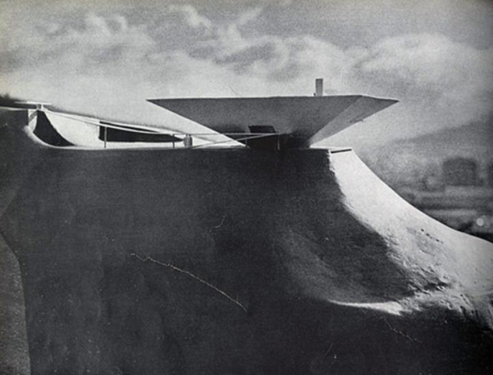 カラカスオスカーnieneyerの近代美術館