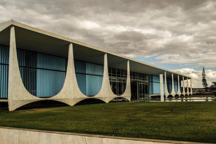 La résidence du président Brasilia Alvorada