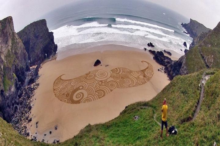 Tony disegni sulla sabbia 06