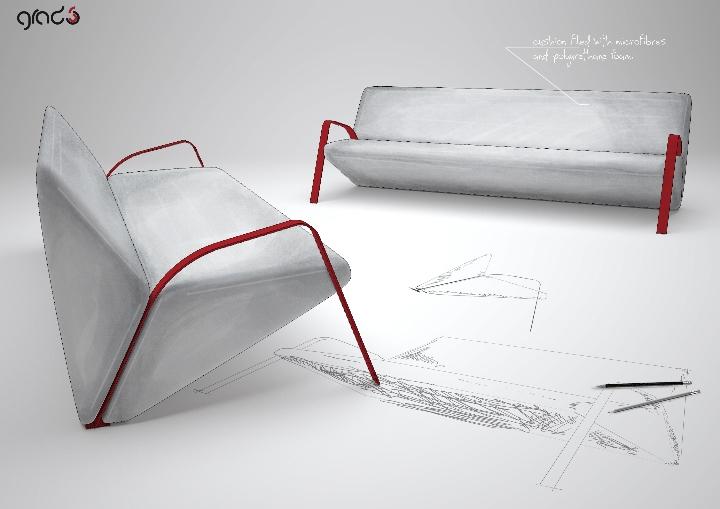 σοκολάτα καναπέ σχεδιασμό σχεδιασμού gradosei 03