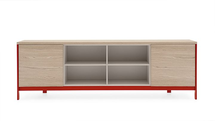 Calligaris-FACTORY avant rouge 1 LR