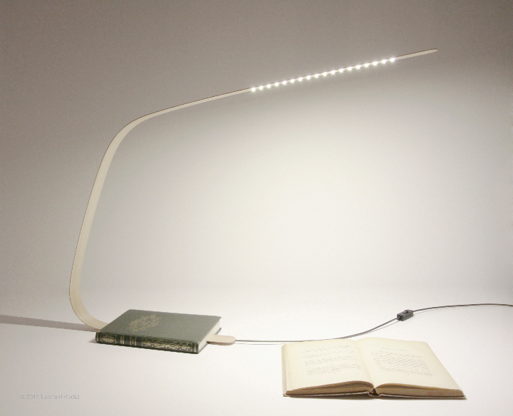 LEONARD KADID Bookmarl Lamp 2011