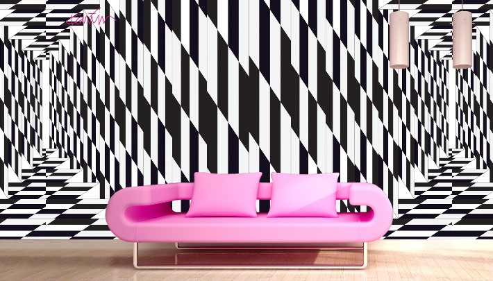 multiverse wallpaper von karim rashid f r glamora social design magazine. Black Bedroom Furniture Sets. Home Design Ideas