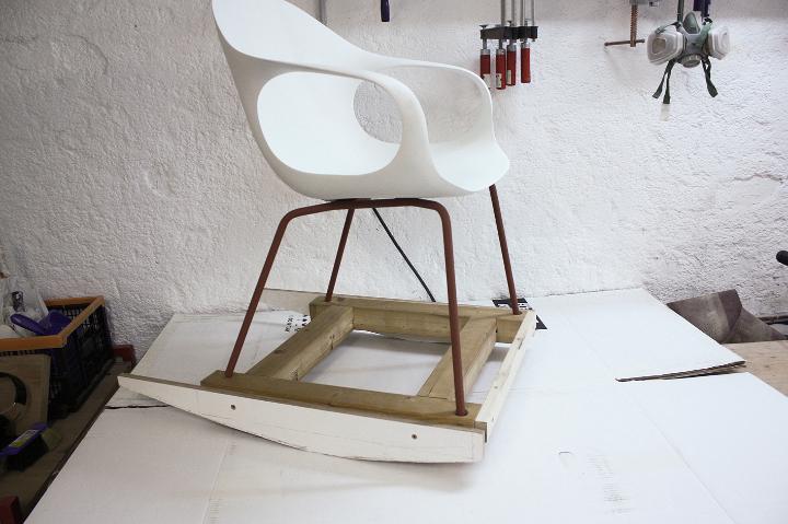 Kristalia elefante silla de oscilación de 1695