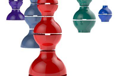 Enrico Azzimonti x Zava Modelos lâmpadas