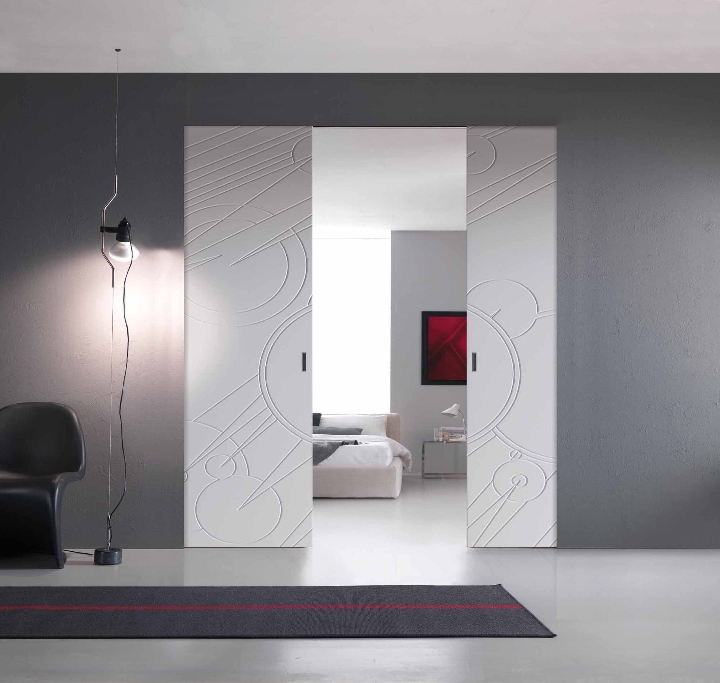 Correr parede interior Walldoor 4