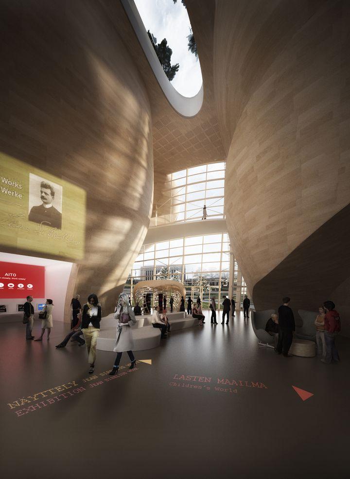 Djuric Tardio Architectes Helsinki Biblioteca central de 03