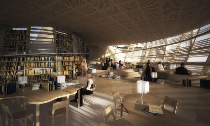 Djuric Tardio Architectes Helsinki Biblioteca central de 04
