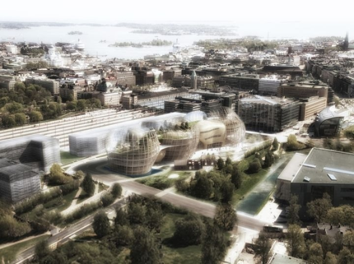 Djuric Tardio Architectes Helsinki Biblioteca central de 09