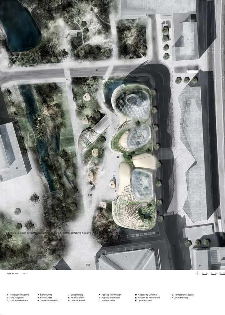 Djuric Tardio Architectes Helsinki Biblioteca central de 18