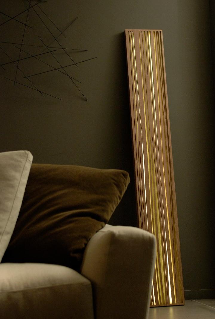 LAMP lueur DE BOIS 01