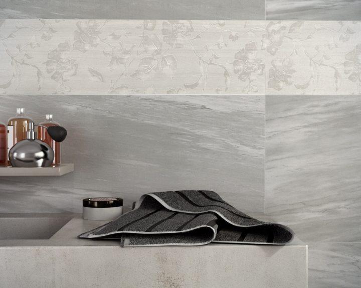 Re.si.de. il rivestimento bagno che riproduce leleganza del marmo