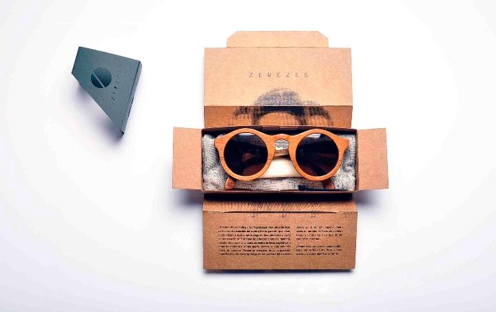 Occhiali in legno Zerezes 1 low