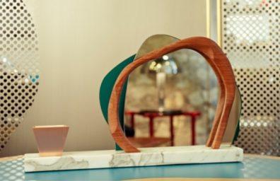 カレンChekerdjian Studioは生け花01をミラーリング