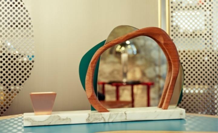Karen Chekerdjian Studio mirrors Ikebana 01