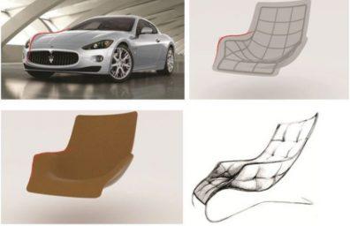 sala zanotta cadeira Maserati