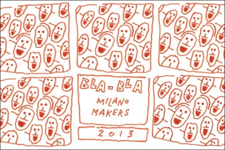 postcard 10x15 bla bla