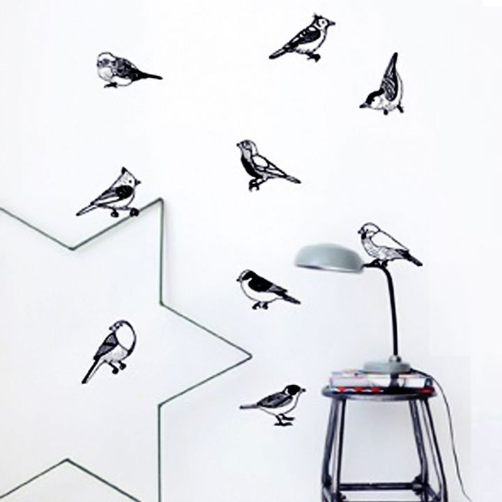 Stickers vinyl birds