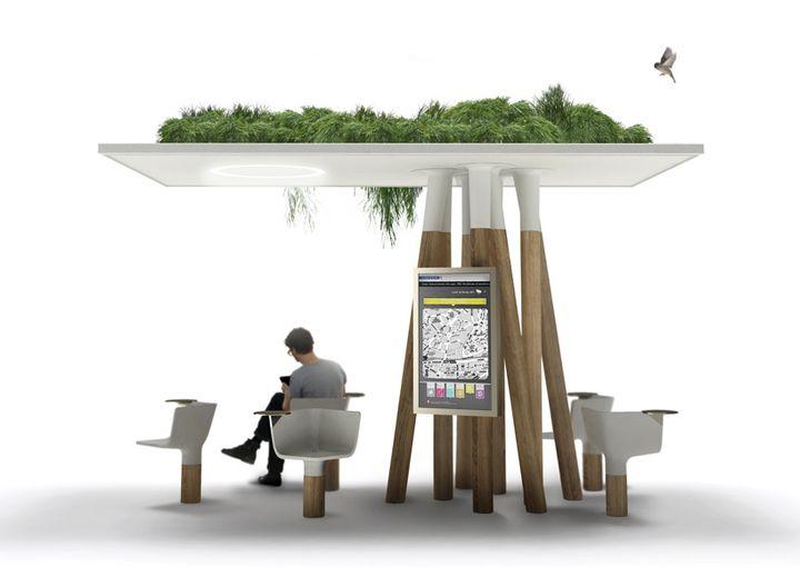 Escale numérique mathieu lehanneur für jcdecaux social design magazine