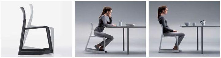 Tip ton la sedia dinamica di vitra social design magazine for Sedia design mag