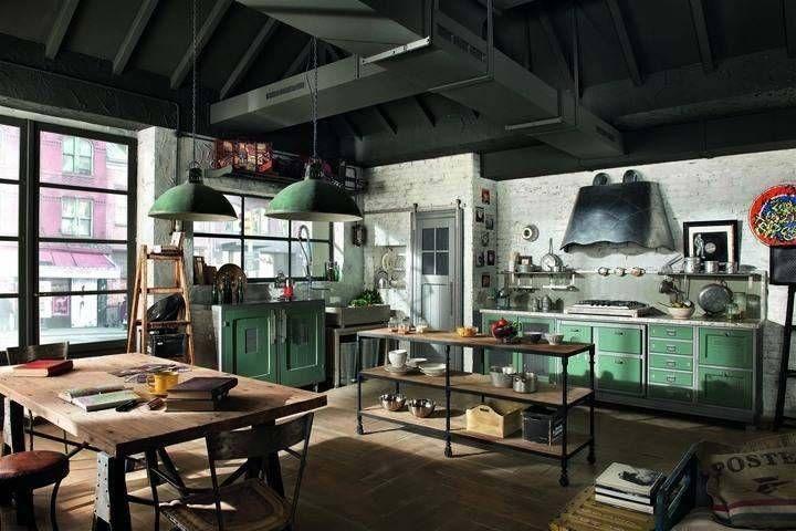 cucine vintage style da marchi group social design magazine. Black Bedroom Furniture Sets. Home Design Ideas