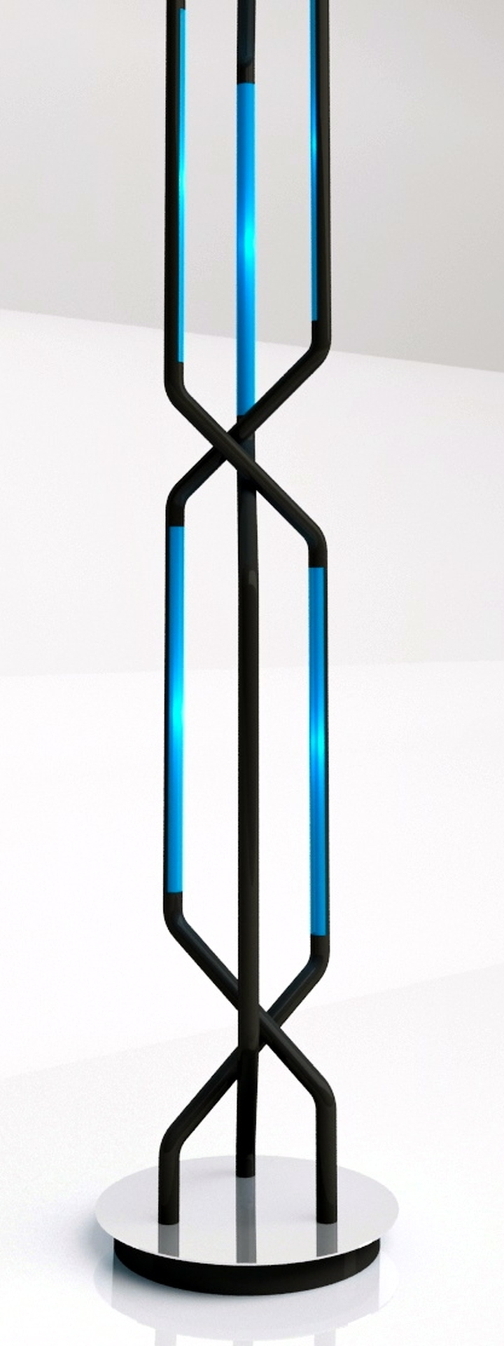 Roberto Pennetta systole Noir et bleu 1