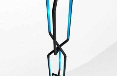 Roberto Pennetta systole Noir et bleu 3D2