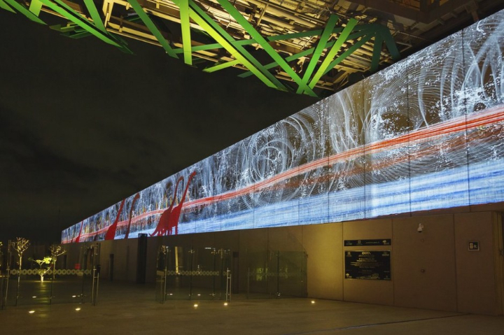 xyz multimedia installation Mayan 02 museum