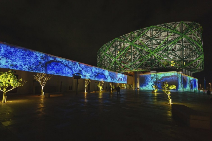 xyz installazione multimediale museo maya 03