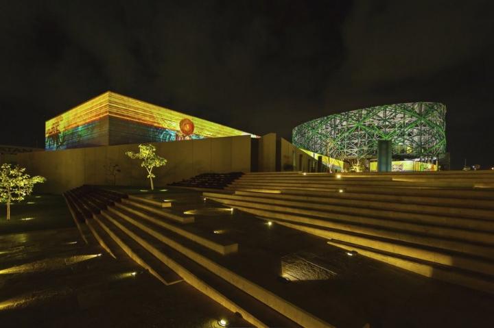 xyz installazione multimediale museo maya 06