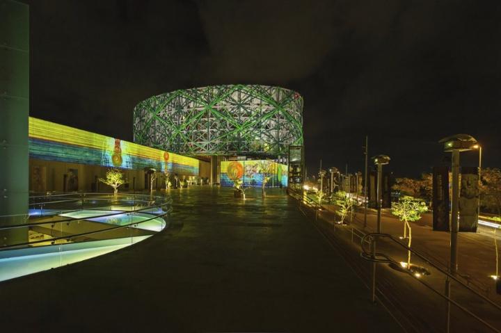 xyz installazione multimediale museo maya 07