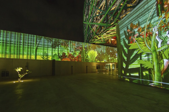 xyz multimedia installation Mayan 08 museum