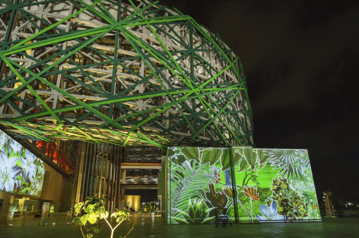 xyz multimedia installation Mayan 09 museum