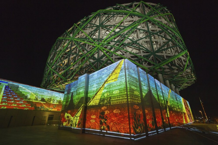 xyz multimedia installation Mayan 10 museum