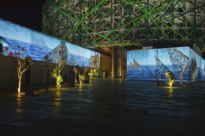 xyz multimedia installation Mayan 13 museum