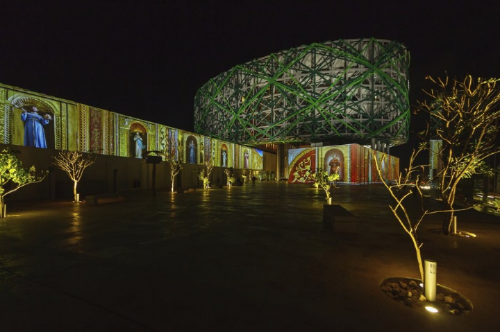 xyz multimedia installation Mayan 14 museum