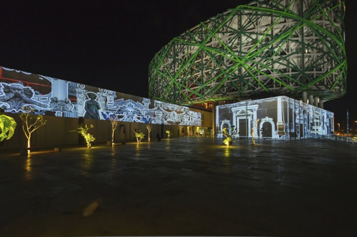 xyz multimedia installation Mayan 15 museum