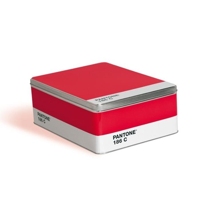 Pantone caixa vermelha