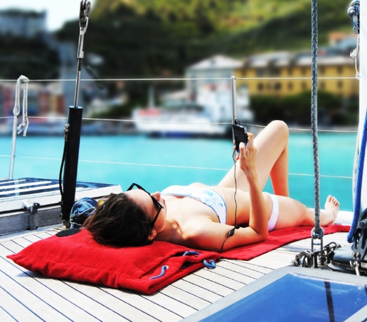 hi-sun rosso barca