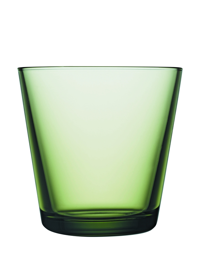 Kartio glass 21 cl forest green JPG