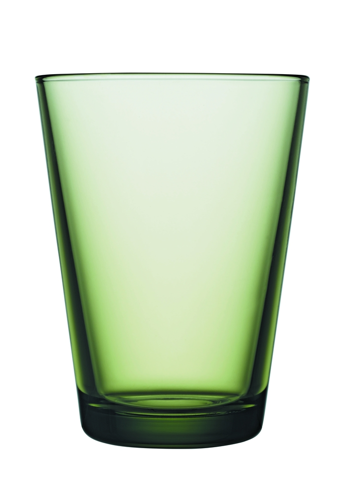 Kartio glass 40 cl forest green JPG