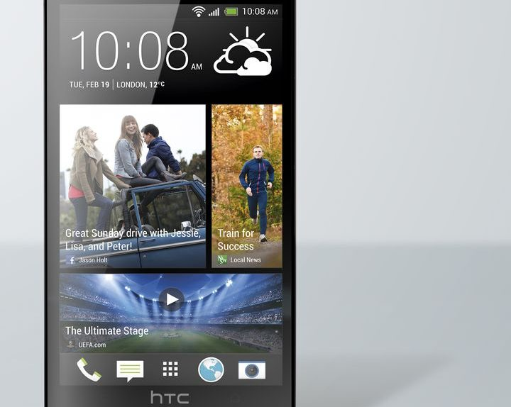 HTC One noir avant photo HiRGB Eng