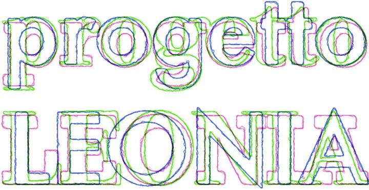 logotipo Leonia