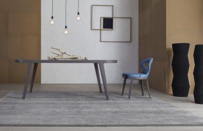 mesa de Lotus amb tapa de mármol