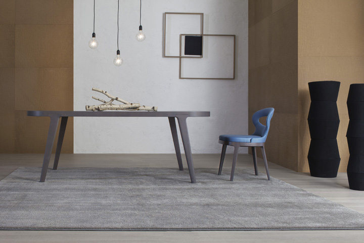 Lotus table en marbre amb