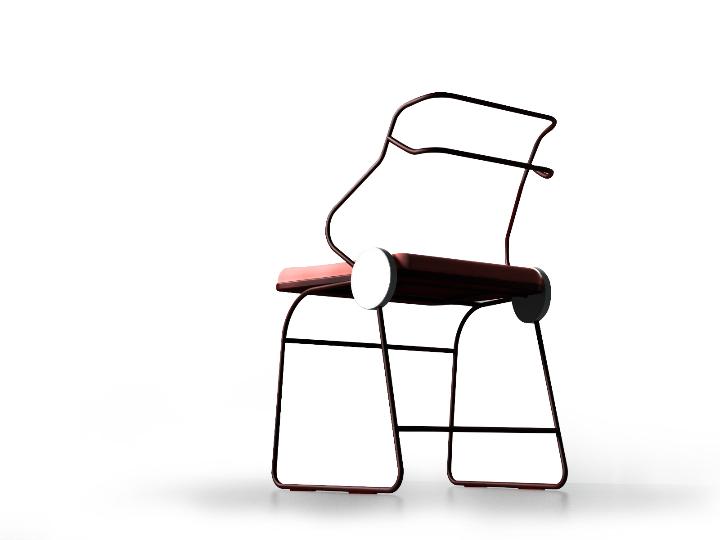 Dongsung Jung Antler chair 04