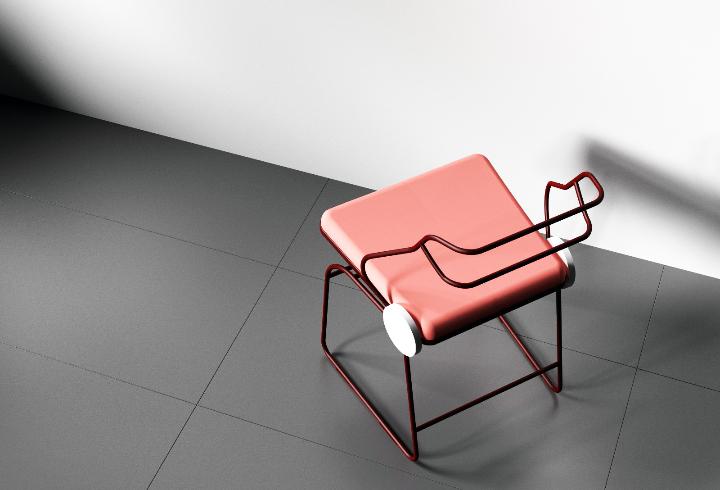 Dongsung Jung Antler chair 06